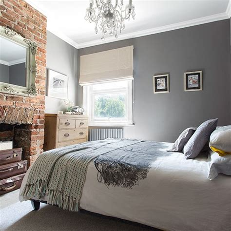 exposed brick bedroom grey bedroom with exposed brick wall decorating