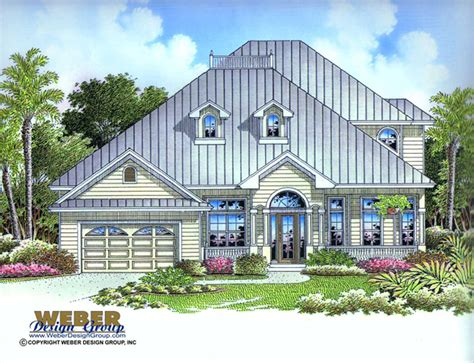 Two Story House Plans With Master On Second Floor old florida home design biscayne home plan weber