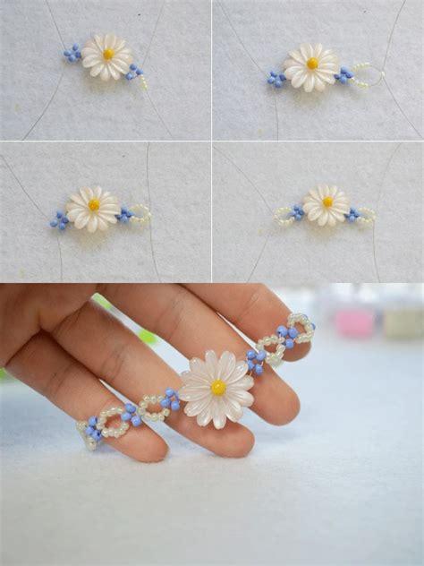 how to make a flower bead bracelet diy a beaded flower bracelet jewelry pendants