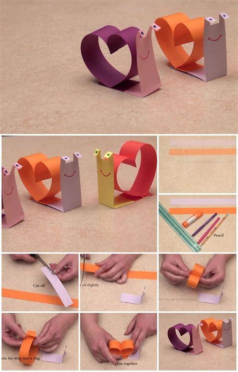 diy paper crafts tutorials diy paper snail craft tutorial usefuldiy