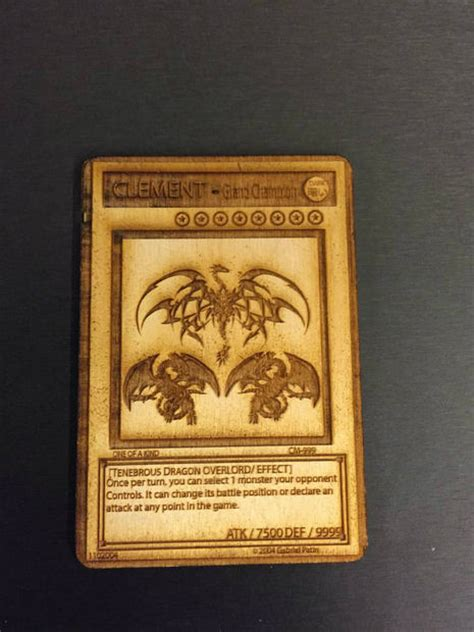 how to make real yugioh cards wooden yu gi oh card or any card you like