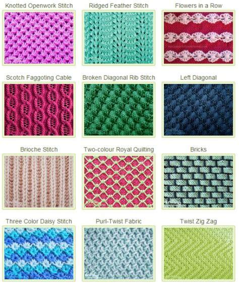 knitting stitches directory 1000 images about knitting stitch patterns on