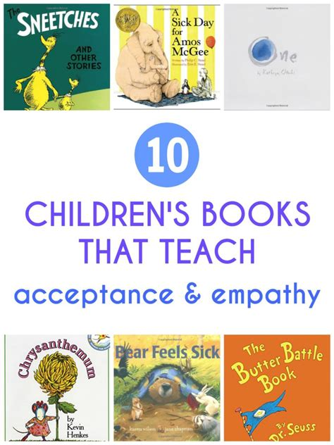 picture books to teach empathy 10 children s books that teach acceptance and empathy
