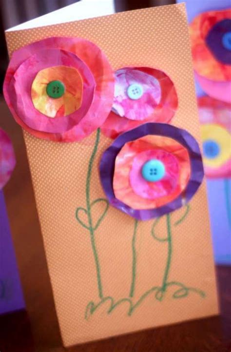 mothers day cards for toddlers to make s day craft for to make flower cards