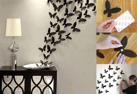 butterflies wall decor home design garden