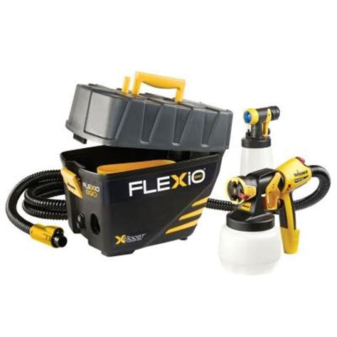 portable paint sprayers home depot wagner flexio 890 hvlp paint sprayer station 0529021 the