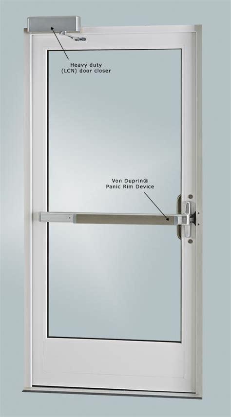 panic hardware for glass doors panic door cal royal combo5000eo36al push bar panic exit