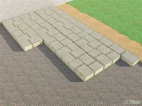 how to install pavers for a patio how to install patio pavers