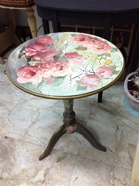 decoupage table ideas 17 best ideas about decoupage table on