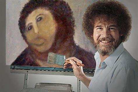 bob ross painting bio fresco bob biography