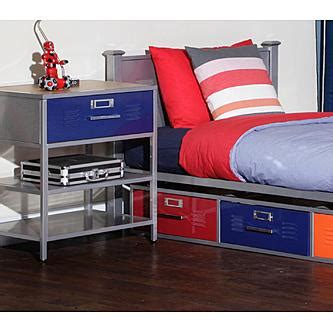bedroom locker furniture american furniture alliance locker bed with 3 drawers