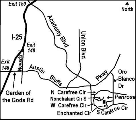 Garden Of The Gods Exit Sfc Penrose Park