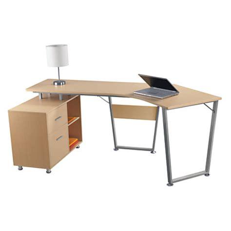 office desks office depot realspace brent leg desk oak by office depot officemax