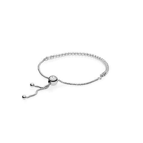 bracelet with silver bracelet with clear cubic zirconia pandora estore