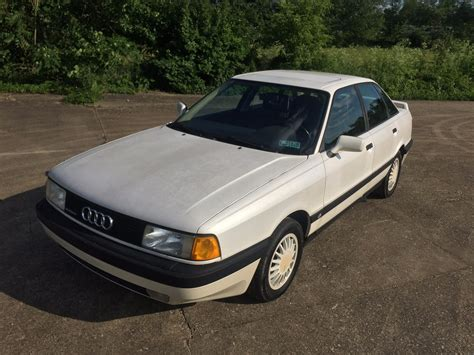 Audi 90 Quattro For Sale by No Reserve 43k Mile 1988 Audi 90 Quattro 5 Speed For Sale