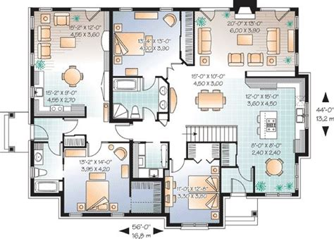 house plans in suite in suite house plan