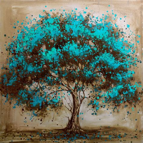 the modern tree painted modern tree decoration painting on