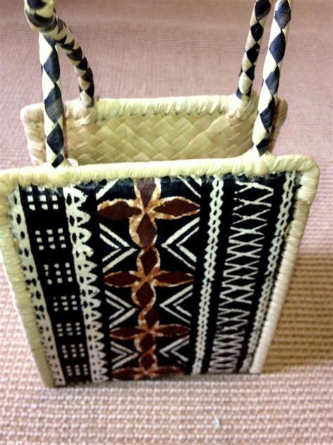 fiji crafts for beautiful fijian basket weaving