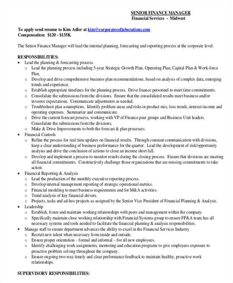 8 finance resume free amp premium templates