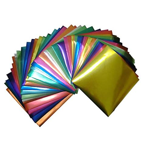 origami paper buy foil color origami folding paper 90 sheets set metallic