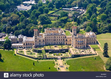 isle of wight house aerial osborne house east cowes isle of wight