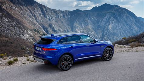Car Wallpaper 2017 by Blue Jaguar F Pace 2017 Car Hd Wallpaper Hd Wallpapers