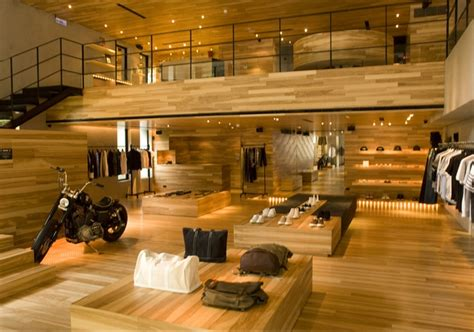 woodworking retail stores retail design showroom in wood