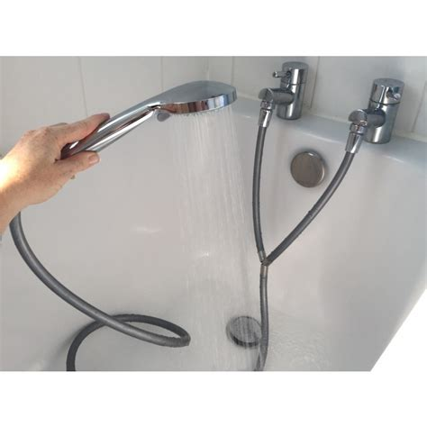 shower heads for bath taps convert your and cold taps into an instant shower by