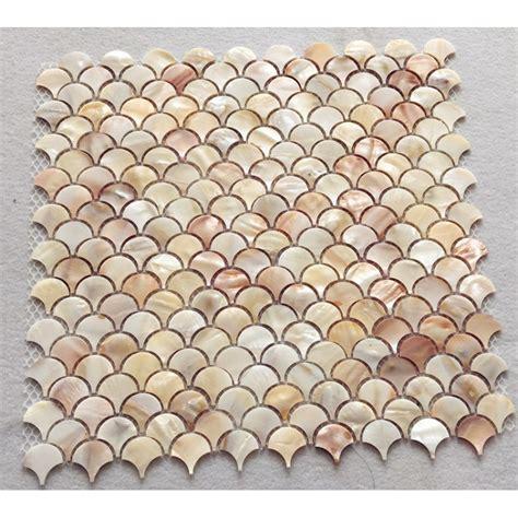 shell tile backsplash abalone shell tile backsplash of pearl mosaic