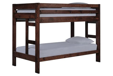bunk beds living spaces durango bunk bed living spaces