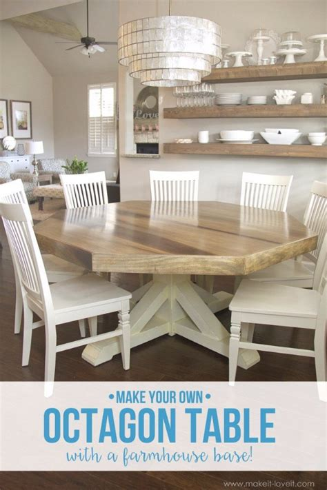 octagon dining room table 36 diy dining room decor ideas page 2 of 4 diy