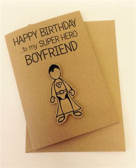 card for boyfriend 25 unique boyfriend birthday cards ideas on