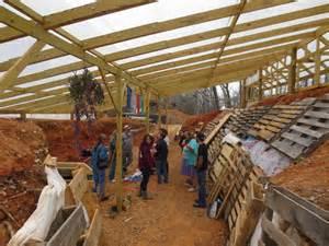 Earth Sheltered House Plans demonstration garden spotlight white dog walipini share