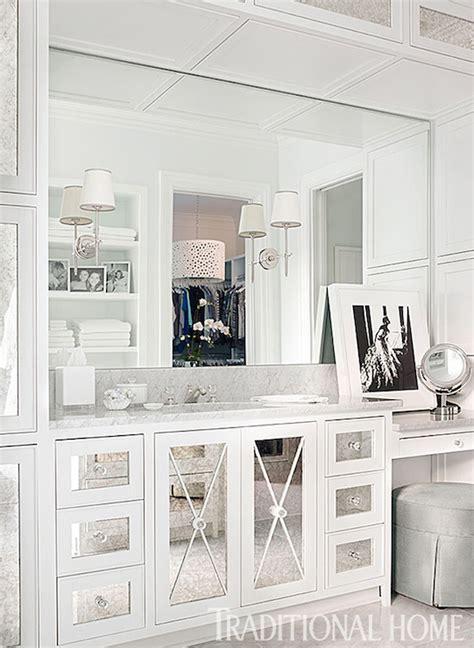 mirrored bathroom vanity cabinets mirrored x mullion transitional bathroom traditional