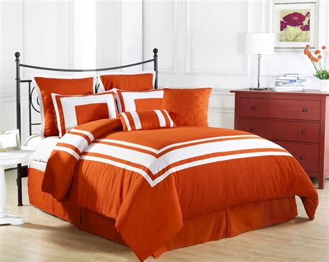 orange comforter sets king 10 bright orange comforters and bedding sets