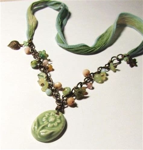 lima bead how does your garden grow necklace in the lima