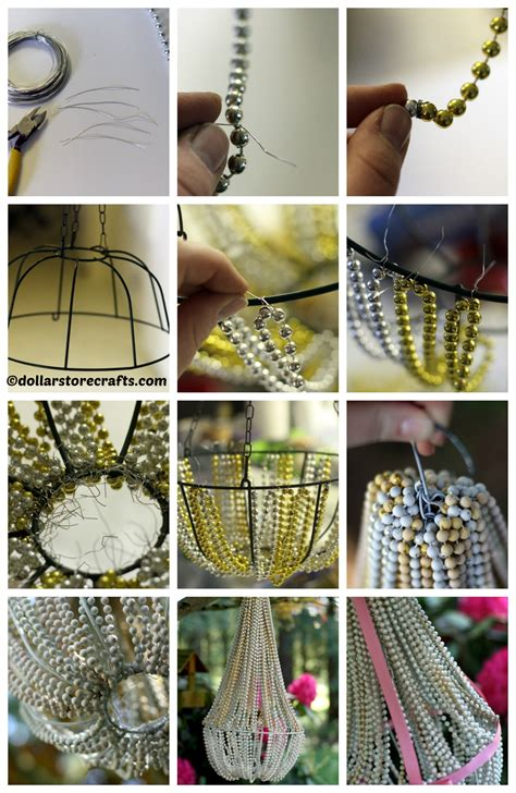 how to make a bead chandelier how to make beaded chandelier 28 images diy bead