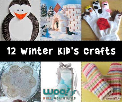 winter kid crafts winter crafts woo jr activities