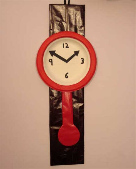 clock craft project easy craft ideas for how to make wall clock from