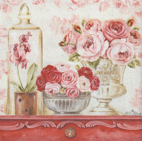 napkin decoupage shop decoupage paper napkins of shabby roses on a mantle