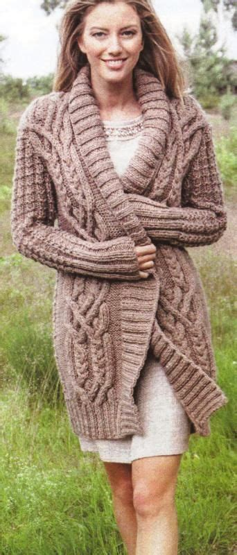 chunky aran knitting patterns knitting patterns coats jackets and cardigans on