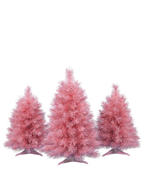 pink tabletop tree pretty in pink tabletop trees treetopia