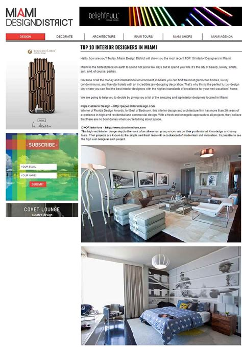 miami interior design firms dkor voted among top miami interior designers