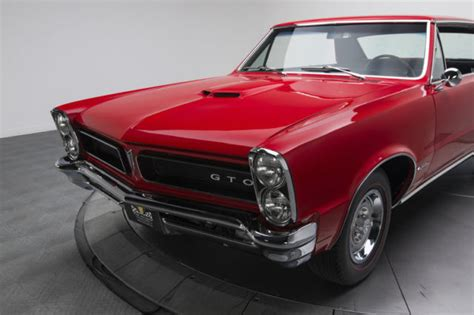 old car manuals online 1965 pontiac gto parking system 1965 pontiac gto 1918 miles torch red hardtop 421 v8 4 speed manual