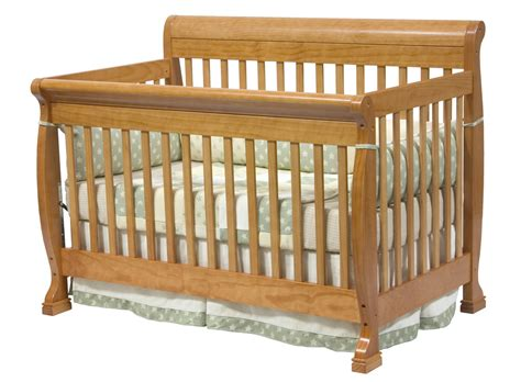 oak baby crib davinci kalani 4 in 1 convertible baby crib in oak w