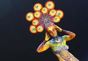 brazil painting show bodypainting festival photos world bodypainting