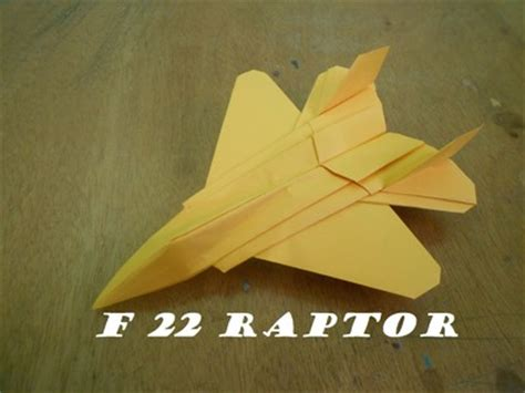 origami f 22 raptor how to fold a paper origami my crafts and diy