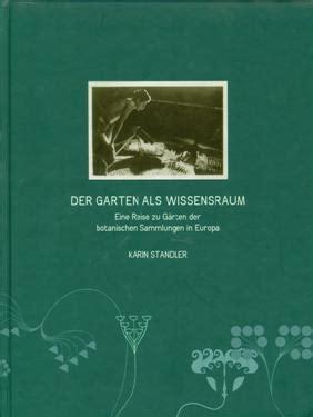 Der Garten Als Wissensraum by V Tujini