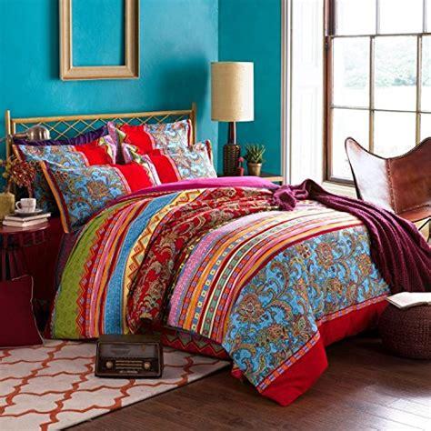 king baby bedding set auvoau boho style bedding set bohemian ethnic style