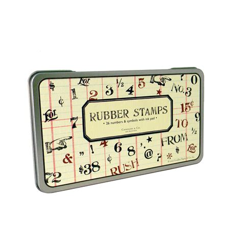 rubber st numbers set numbers symbols rubber st set from